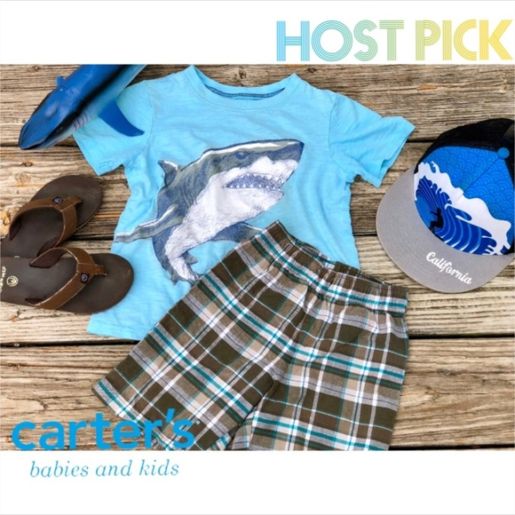 Carter's Other - 🎉HP🎉.   🔆Boys Carters Plaid Shorts🔆
